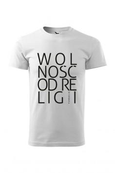 """T-shirt  """"Wolność od Religii"""""""